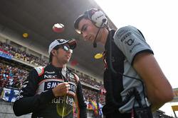 Sergio Perez, Sahara Force India F1 con Tim Wright, Sahara Force India F1 Team