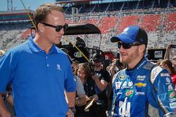 Dale Earnhardt Jr. und Peyton Manning