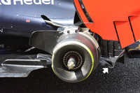 Задняя часть Red Bull Racing RB12