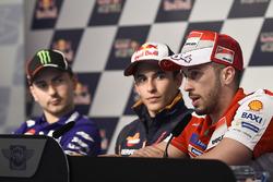 Jorge Lorenzo, Yamaha Factory Racing, Marc Marquez, Repsol Honda Team, Andrea Dovizioso, Ducati Team
