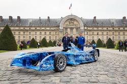 Formel E Chef Alejandro Agag; FIA Präsident Jean Todt