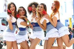 Чарівні дівчата Red Bull
