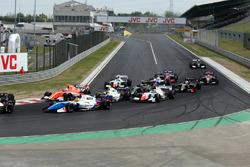 Start action, Matthieu Vaxiviere, SMP Racing