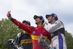 Podio: Lucas di Grassi, ABT Schaeffler Audi Sport, secondo Jean-Eric Vergne, DS Virgin Racing, terzo Sébastien Buemi, Renault e.Dams