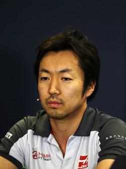 Jemma Komatsu, Haas F1 Team, carrera de Ingeniero en la Conferencia de prensa