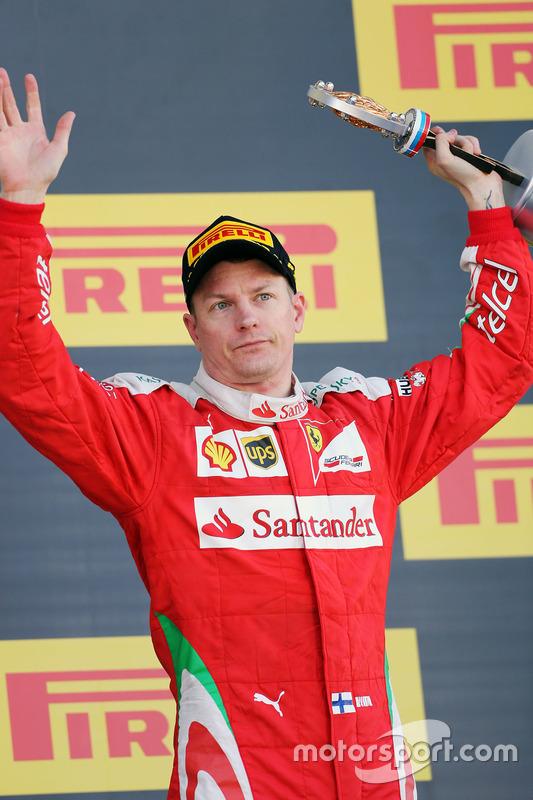 Grand Prix von Russland 2016 in Sochi: Platz drei