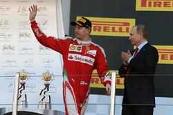 Подиум: третье место - Кими Райкконен, Ferrari