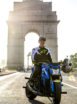 Aras Gibieza am India Gate in Neu-Delhi