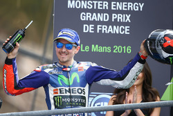 Podium: winner Jorge Lorenzo, Yamaha Factory Racing
