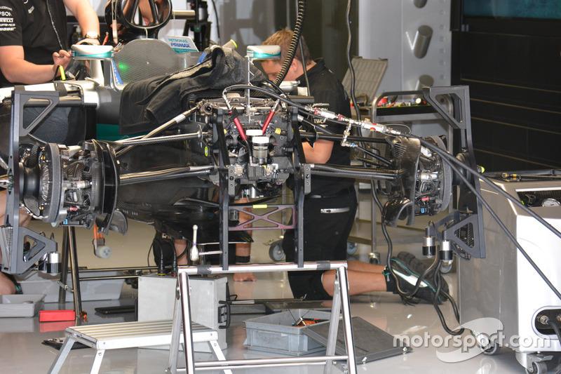 Détails de la Mercedes AMG F1 Team W07