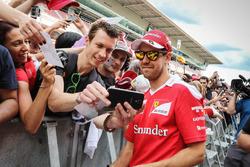 Sebastian Vettel, Ferrari con i tifosi