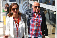 Dietrich Mateschitz, Red-Bull-Boss, mit Freundin Marion Feichtner