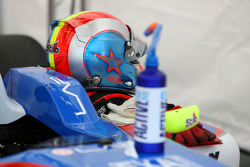 The helmet of Julien Jousse