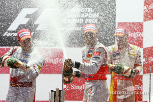 Time Glock celebrated 2nd place in 2009