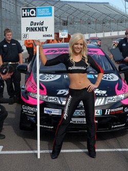 Dave Pinkney's Grid Girl