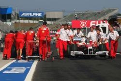 Scuderia Ferrari and Toyota F1 Team
