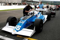 #65 Alain DeBlandre, Team Ryschka, CART Lola Cosworth 2.8 V8 Turbo [ex-J. Jones]