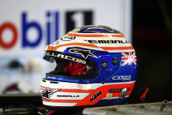 Helmet of Craig Baird