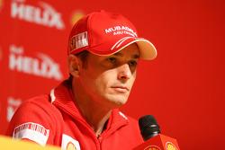 Shell press conference, Giancarlo Fisichella, Scuderia Ferrari