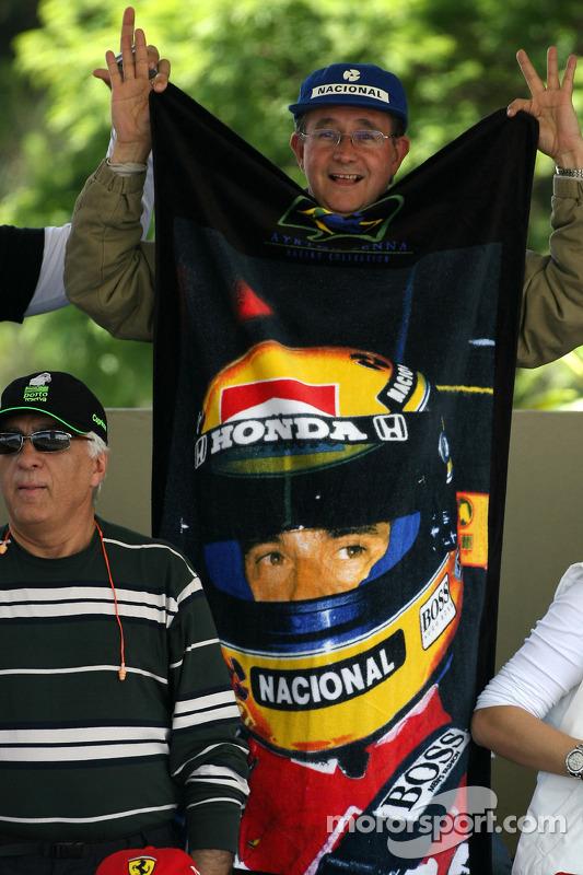 Fã de Ayrton Senna