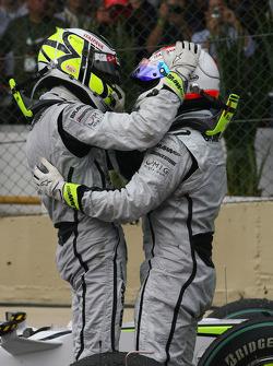 Jenson Button, BrawnGP gana el Campeonato del mundo con Rubens Barrichello, BrawnGP