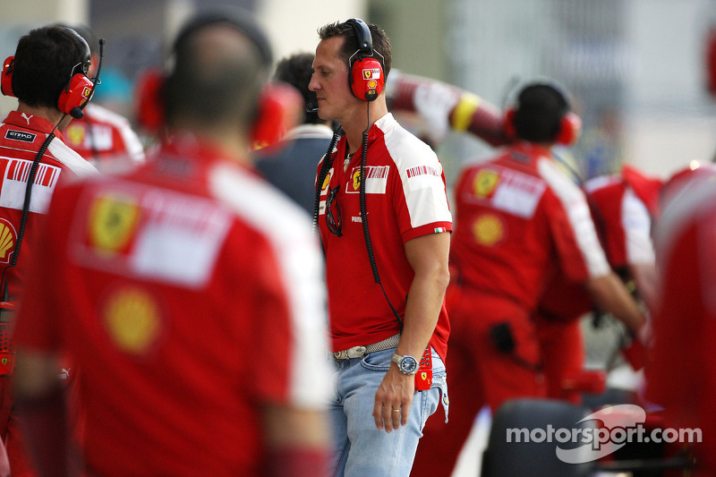 Michael Schumacher, Testrijder Scuderia Ferrari
