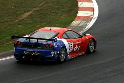 #56 CRS Racing Ferrari F430: Andrew Kirkaldy, Rob Bell