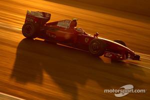 Raikkonen's last race for Scuderia Ferrari in 2009
