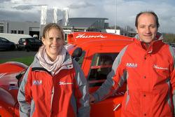 Team Dessoude: Isabelle Patissier & Thierry Delli-Zotti avec le buggy