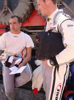 Carlos Sousa et Matthieu Baumel