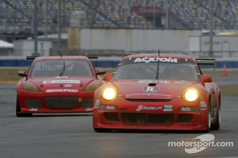 #64 JLowe Racing Porsche GT3: Jim Lowe, Eric Lux, Jim Pace, Tim Sugden, James Walker