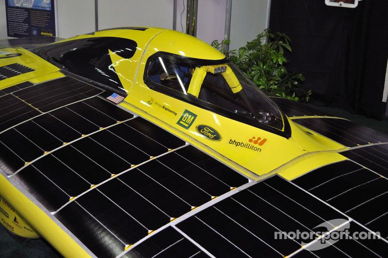 Voiture solaire Infinium de l'University of Michigan