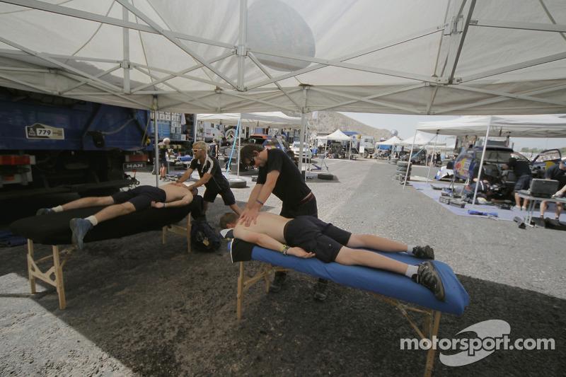 Physiotherapie dans la zone Volkswagen Motorsport