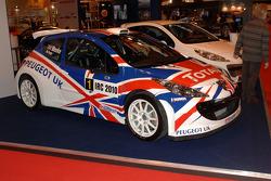 Chris Meekes winning Peugeot IRC Car