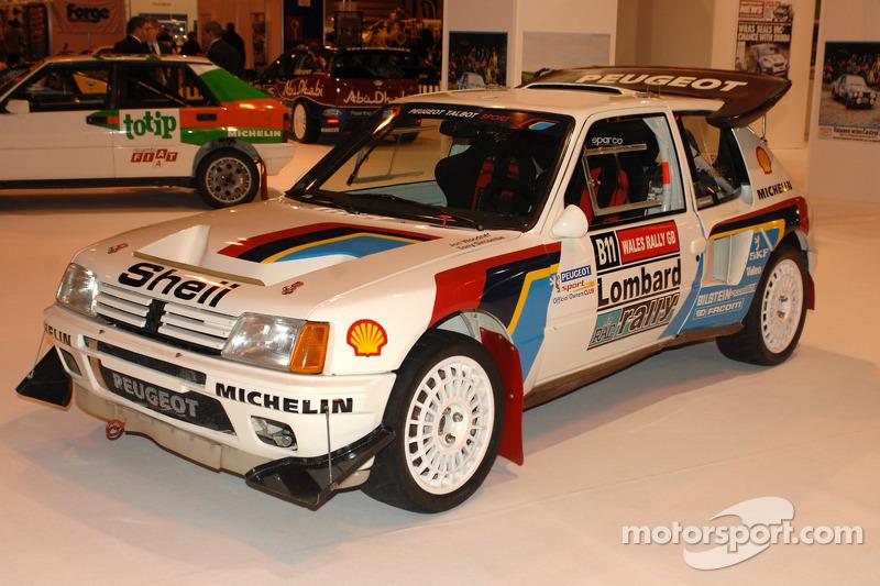 Peugeot 206 Group B WRC