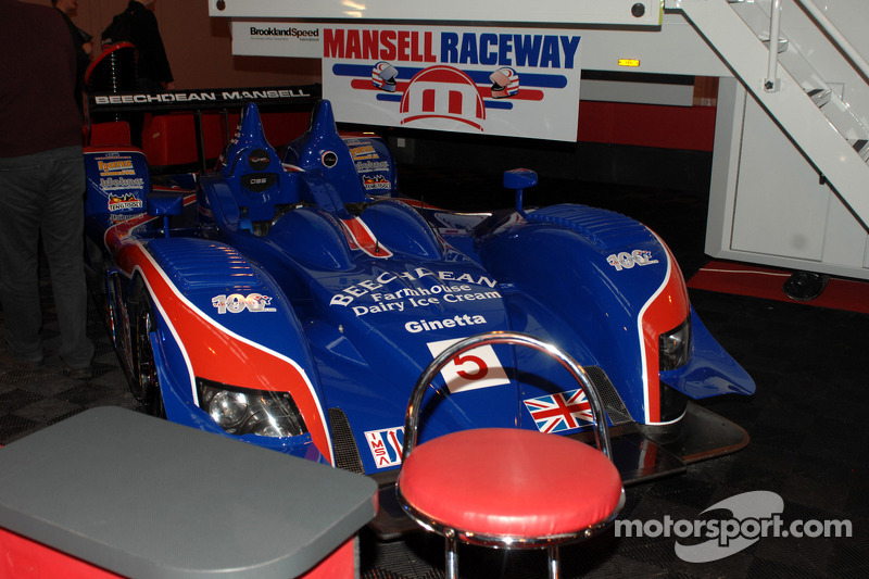 Team Mansell Le Mans Car