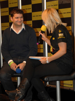 Mat Jackson on the Dunlop Stand