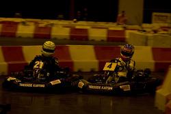Celebrity karting challenge