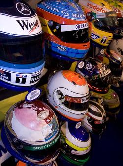 Drivers Crash helmet display