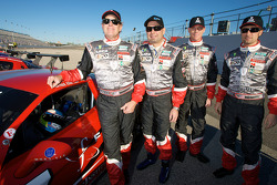 #07 Godstone Ranch Motorsports/Team MBR Corvette: John McCutchen, Davy Jones, Scott Russell et Paul Edwards