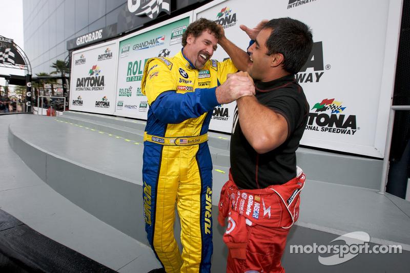 Boris Said et Juan Pablo Montoya se battent amicalement
