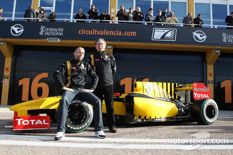 Gerard Lopez Genii Capital, Renault F1 Team, Jean-Francois Caubet, Directeur général Renault F1 Team
