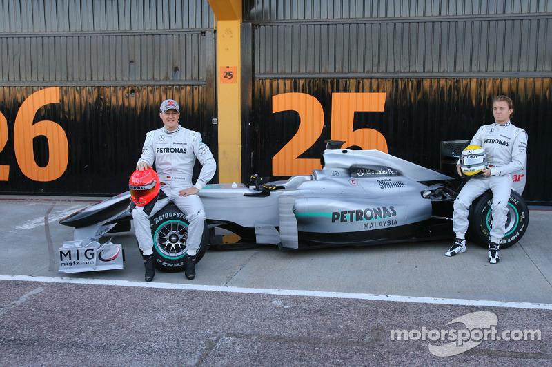 Міхаель Шумахер і Ніко Росберг, Mercedes GP