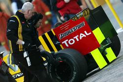 Mécanicien Renault F1 Team