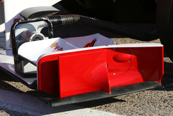 Scuderia Ferrari front wing detail