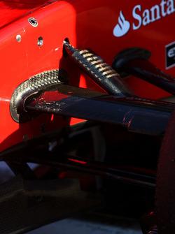 Scuderia Ferrari sespension detail