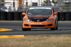 #76 Compass360 Racing Honda Civic SI: Jesse Combs, Gregory Liefooghe