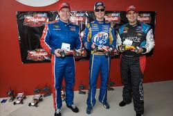 La course de voiture téléguidées Raybestos Rookie of the Year : Terry Cook, Kurt Busch et Kevin Conway