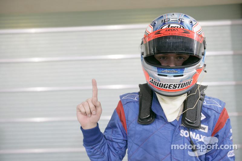 Charles Pic viert zijn pole position