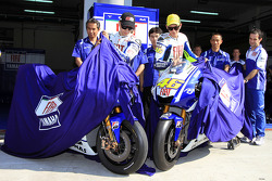 Fiat Yamaha Team Livery Launch